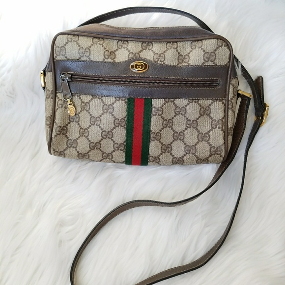 fcdc48da0 Gucci Handbags - Vintage 70's Gucci Crossbody bag